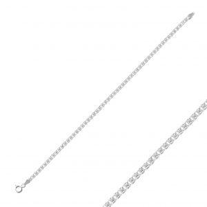 50 Mikron Love Zincir Gümüş Kadın Bileklik, Zincir Bileklikler  925 ayar gümüştür.