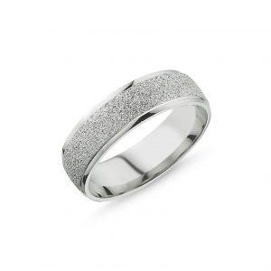 6mm Kumlu Gümüş Alyans, Sade Alyanslar  925 ayar gümüştür.