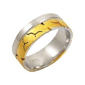 Altın Kaplama Gümüş Alyans, Sade Alyanslar  925 ayar gümüştür.