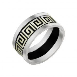 Lazerli Desenli Gümüş Alyans, İkili Alyanslar  925 ayar gümüştür.