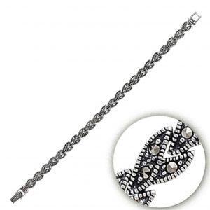 Markazit Taşlı Gümüş Kadın Bileklik, Markazit Taşlı Bileklikler  925 ayar gümüştür.
