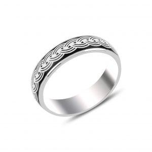 Mineli Gümüş Alyans, Taşsız Erkek Yüzükleri  925 ayar gümüştür.