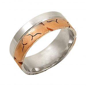 Rose Altın Kaplama Gümüş Alyans, Sade Alyanslar  925 ayar gümüştür.