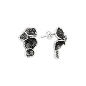Sade Gümüş Küpe, Taşsız Küpeler  925 ayar gümüştür.