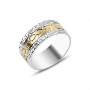 Sonsuzluk Gümüş Alyans, İkili Alyanslar Rodyum Kaplama 925 ayar gümüştür.