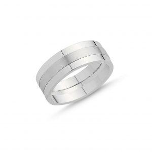 Taşsız Gümüş Alyans, Sade Alyanslar  925 ayar gümüştür.