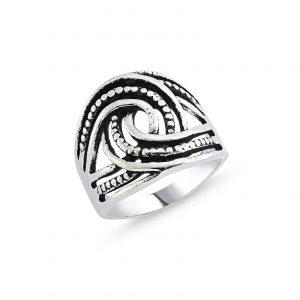 Taşsız Gümüş Yüzük, Taşsız Bayan Yüzükleri  925 ayar gümüştür.