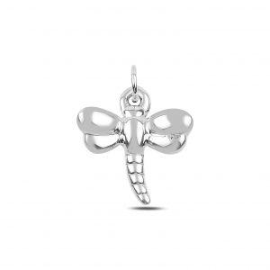 Yusufçuk Elektroform Gümüş Kolye Ucu, Taşsız Kolye Uçları  925 ayar gümüştür.