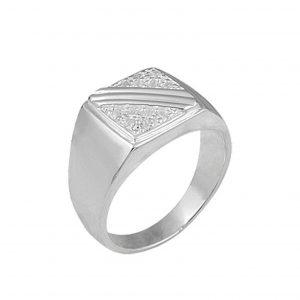 Zirkon Taşlı 925 Ayar Gümüş Erkek Yüzük, Zirkon Taşlı Erkek Yüzükleri  925 ayar gümüştür.