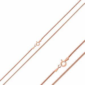 140 Mikron Tıraşlı Tondo Zincir Gümüş Kolye, Zincir Rose Altın Kaplama Zincir 925 Ayar Gümüştür.
