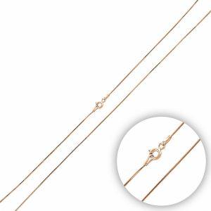 15 Mikron Tıraşlı Yılan Zincir Gümüş Kolye, Zincir Rose Altın Kaplama Zincir 925 Ayar Gümüştür.