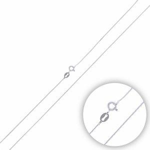 15 Mikron Yuvarlak Yılan Zincir Gümüş Kolye, Zincir Rodyum Kaplama Zincir 925 Ayar Gümüştür.