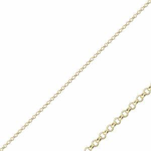 40 Mikron Doç Altın Kaplama Zincir Gümüş Kolye, Zincir Altın Kaplama Zincir 925 Ayar Gümüştür.