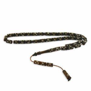 İşlemeli Kuka Gümüş Tesbih, Tesbih 925 Ayar Gümüştür.